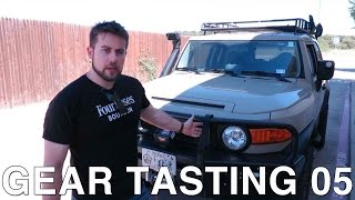 Gear Tasting Episode 05: FJ Cruiser Mods, Body Armor and Stand-Up Desks