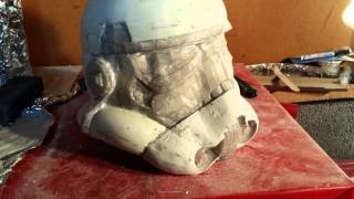 getlinkyoutube.com-Storm trooper pepakura and fiberglass helmet build