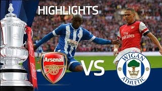 ARSENAL VS WIGAN ATHLETIC 1-1 (ARSENAL WIN ON PENALTIES):