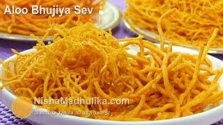 getlinkyoutube.com-Aloo Bhujia Sev Namkeen - Bikaneri Namkeen Sev - Diwali Special