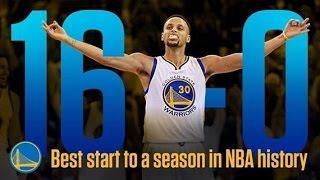 getlinkyoutube.com-Warriors make NBA history as first team to start season 16-0