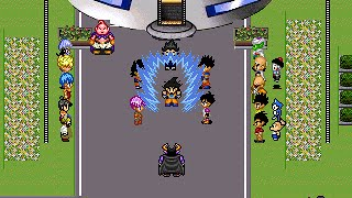 Dragon Ball Z: Legend of Z RPG - Goku's Transformations