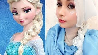 getlinkyoutube.com-Disney's Queen Elsa Frozen - Inspired Makeup Tutorial