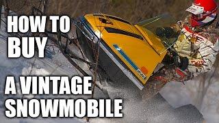 getlinkyoutube.com-How to Buy a Vintage Snowmobile