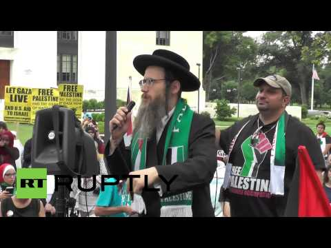 US: Protesters march on White House to condemn Israel