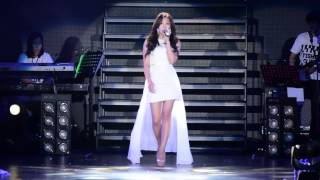[FANCAM] HD 150322 Apink Eunji- Listen (Beyonce Cover)- PINK PARADISE Concert in Singapore