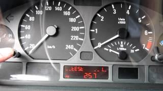 getlinkyoutube.com-98-2005 BMW E46 3-Series - How to reset oil inspection indicator. Reset service light