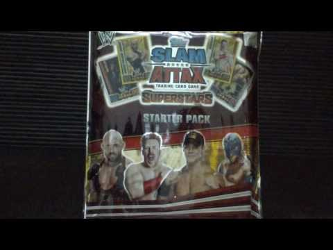 Slam Attax Superstars- starter pack (INDIA)