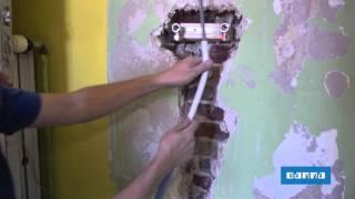 getlinkyoutube.com-Remplacer une baignoire par une douche - Vidéo bricolage | GAMMA Belgique