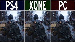 getlinkyoutube.com-The Division – PS4 vs. Xbox One vs. PC Graphics Comparison FullHD 60fps