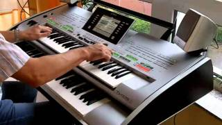 getlinkyoutube.com-Yamaha Tyros 3 Big  Oxygene IV
