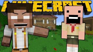 getlinkyoutube.com-When Herobrine and Notch were Kids - Minecraft