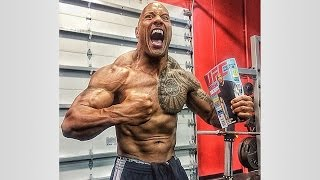 getlinkyoutube.com-The Rock's CHEST WORKOUT ROUTINE