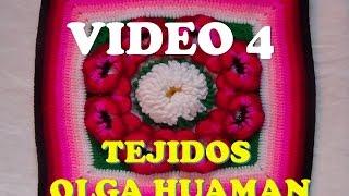 "getlinkyoutube.com-colcha a crochet: video 4, muestra ""pensamiento"""