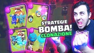 getlinkyoutube.com-ECCO le FAMOSE TRUPPE CLONATE! SEGRETI/STRATEGIE con CLONAZIONE! Clash Royale!