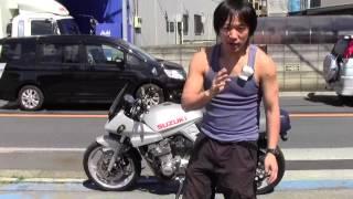 getlinkyoutube.com-スズキ GSX400Sカタナによる安全のための心得 参考動画