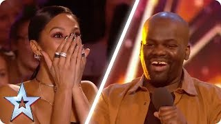 ONE OF THE FUNNIEST COMEDIANS EVER!   Britain's Got Talent