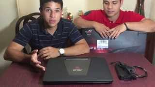 getlinkyoutube.com-UNBOXING - Notebook Gamer Asus ROG G751JL