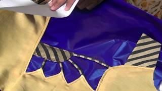 getlinkyoutube.com-How to make saree blouse back fashion part 1