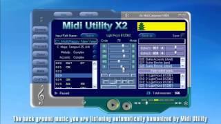 getlinkyoutube.com-Midi Utility - Tutorial - Fully Automatic Accompaniment Software - English