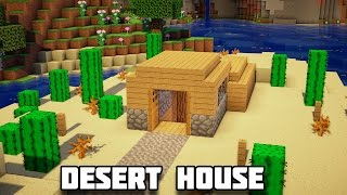 getlinkyoutube.com-Minecraft: How to Build an Underground Desert House