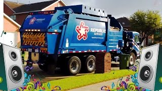 getlinkyoutube.com-Garbage Truck Song for Kids - Garbage Truck Videos for Children
