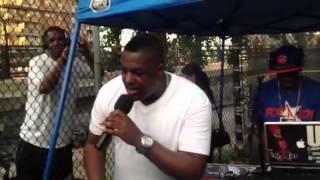 "getlinkyoutube.com-Voice of Harlem with MC Will Trax celebrating the life of Alimoe aka ""The Black Widow"""
