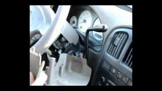 getlinkyoutube.com-Dodge Caravan (01-03) Instrument Panel light replacement (How To)