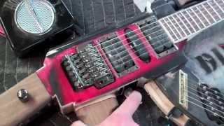 getlinkyoutube.com-Как сделать из гитары автомат Калашникова.