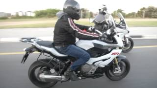 getlinkyoutube.com-BMW S1000XR vs. Ducati Multistrada 1200S