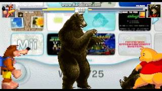 getlinkyoutube.com-Mugen battles #17 Banjo(me) and Mr Bear Vs Kuma and Winnie the pooh (Bear battle)
