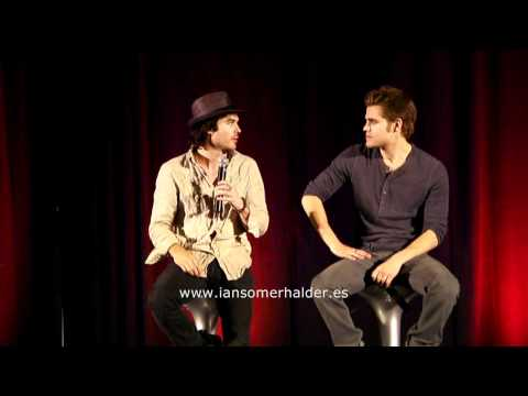 11/06/2011 'Bloody Night Con' (Bcn) Panel Ian & Paul parte 5