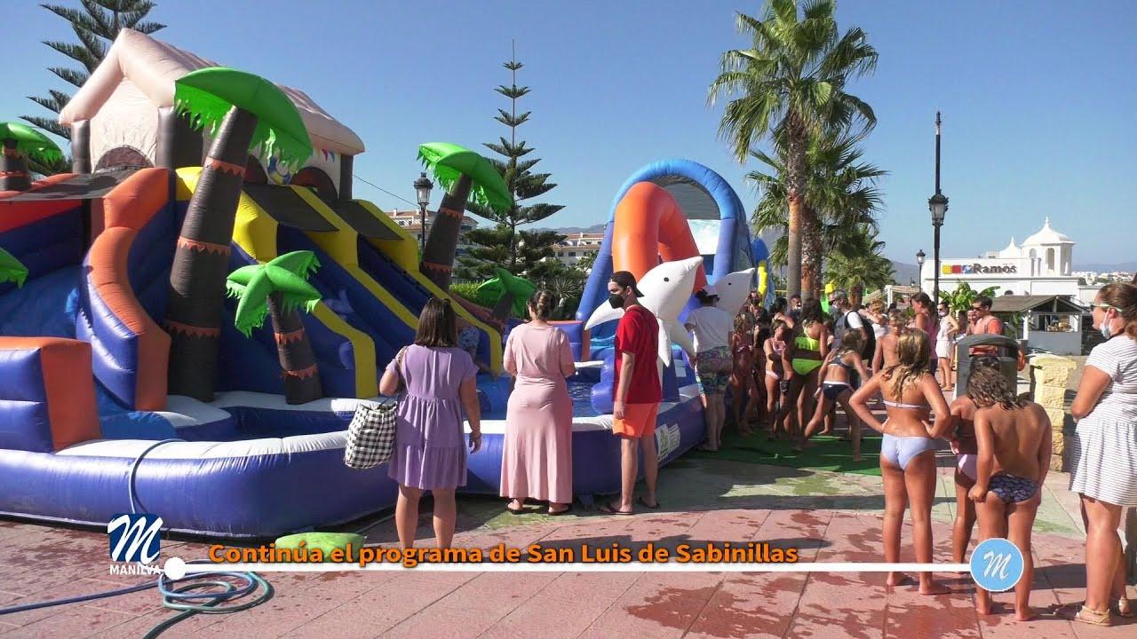 Continúa el programa de San Luis de Sabinillas