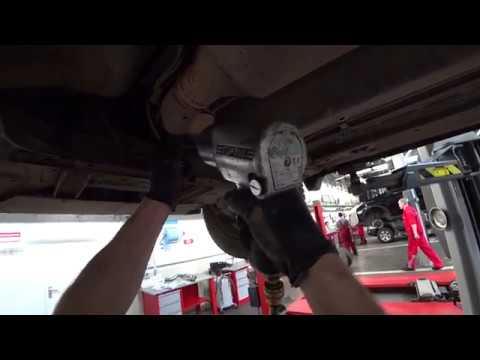 Nissan Qashqai, 2008 г.в. Замена выхлопной трубы.