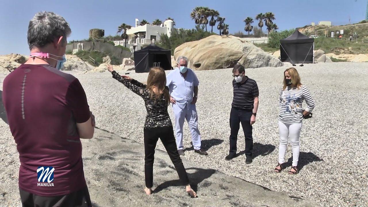 Comienza el rodaje del documental Luis Cernuda en la playa de Chullera