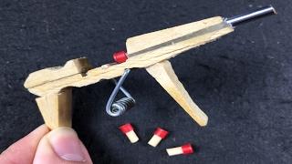 getlinkyoutube.com-Cómo Hacer una PISTOLA AK-47 que DISPARA