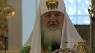 Проповедь Патриарха Кирилла в праздник Вознесения Господня