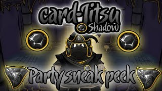 getlinkyoutube.com-Club Penguin Card-Jitsu Shadow Party Sneak Peek