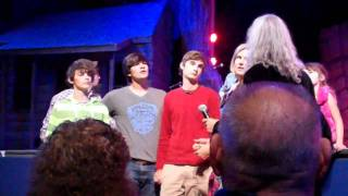 getlinkyoutube.com-Penrod Kids sing at Dollywood (2011-10-15)