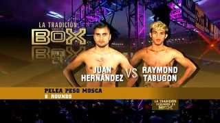 "getlinkyoutube.com-Juan ""Churritos"" Hernández vs Raymond ""Tornado"" Tabugón"