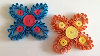 getlinkyoutube.com-Quilling Flowers with a hair comb