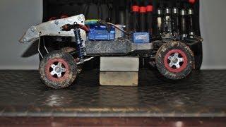 getlinkyoutube.com-Traxxas 1/16 Mini Slash into Solid Axle Trophy Truck