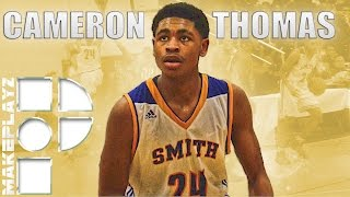 getlinkyoutube.com-Freshmen Cam Thomas Drops 38 on #1 Ranked Trinity Episcopal!