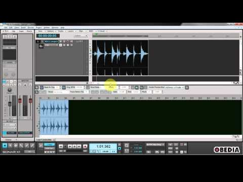 How to Manually control a clip's BPM in Sonar X1