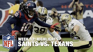 getlinkyoutube.com-Saints vs. Texans | Week 12 Highlights | NFL