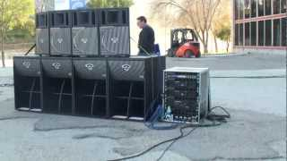 getlinkyoutube.com-Afial - Demostracion de sonido array - Cerwin Vega