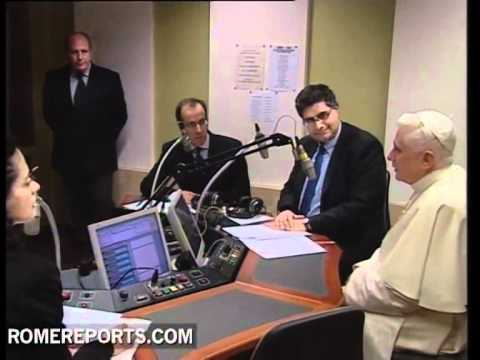 Pope Benedict XVI will make history with a TV audience Q&A