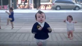 getlinkyoutube.com-Dancing Babys  - Evian Commercial | 2013 |The New Funny Evian Commercial