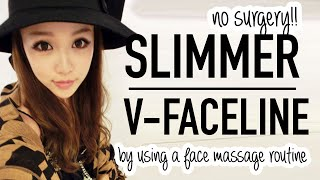 getlinkyoutube.com-Asian Facial Massage Tutorial ♥ Use a spoon for a slimmer face and glowing skin ♥ Wengie