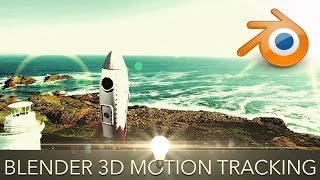 How to 3D Motion Track in Blender - Putting 3D Objects in your Video